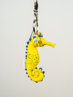 Spiral Seahorse String Doll