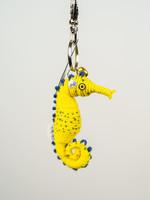 Spiral Seahorse String Doll