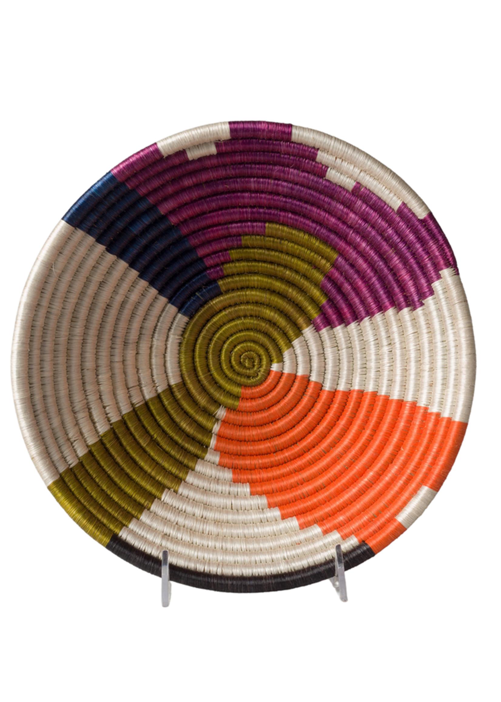 Kazi Medium Abstract Neon Basket