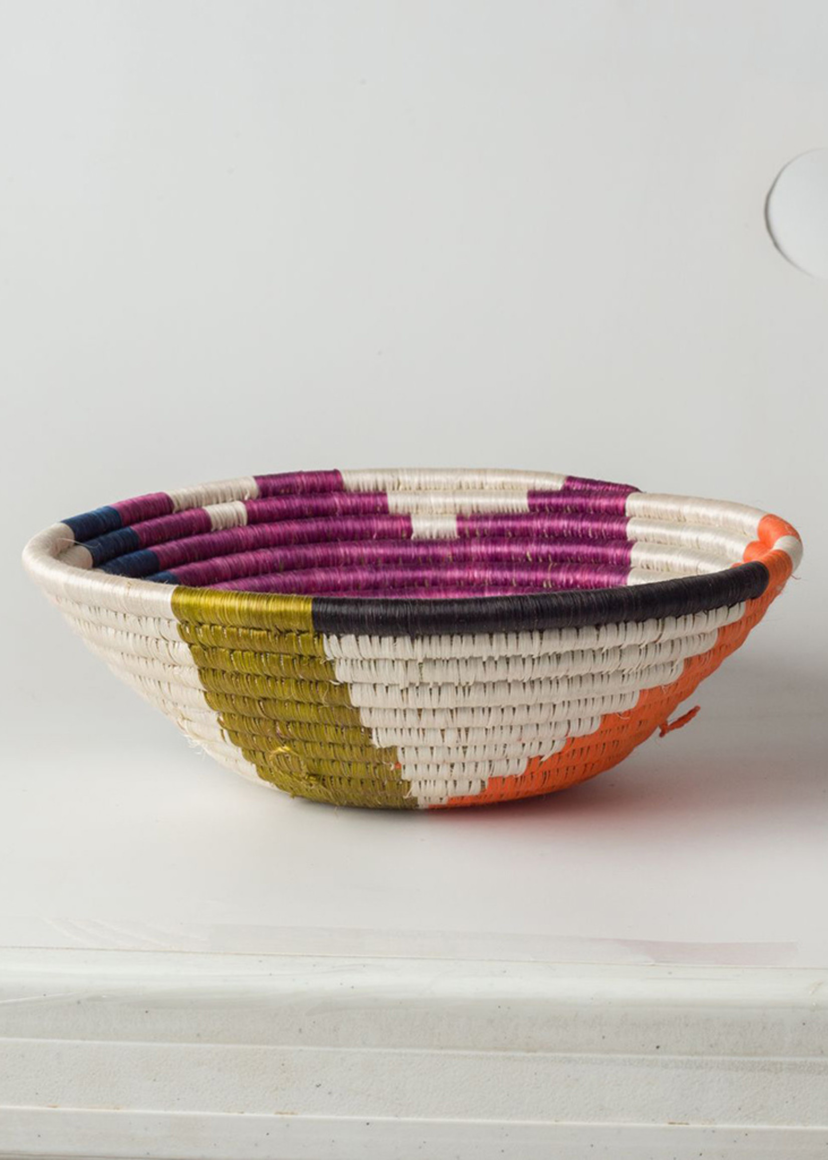 Kazi Medium Abstract Neon Basket