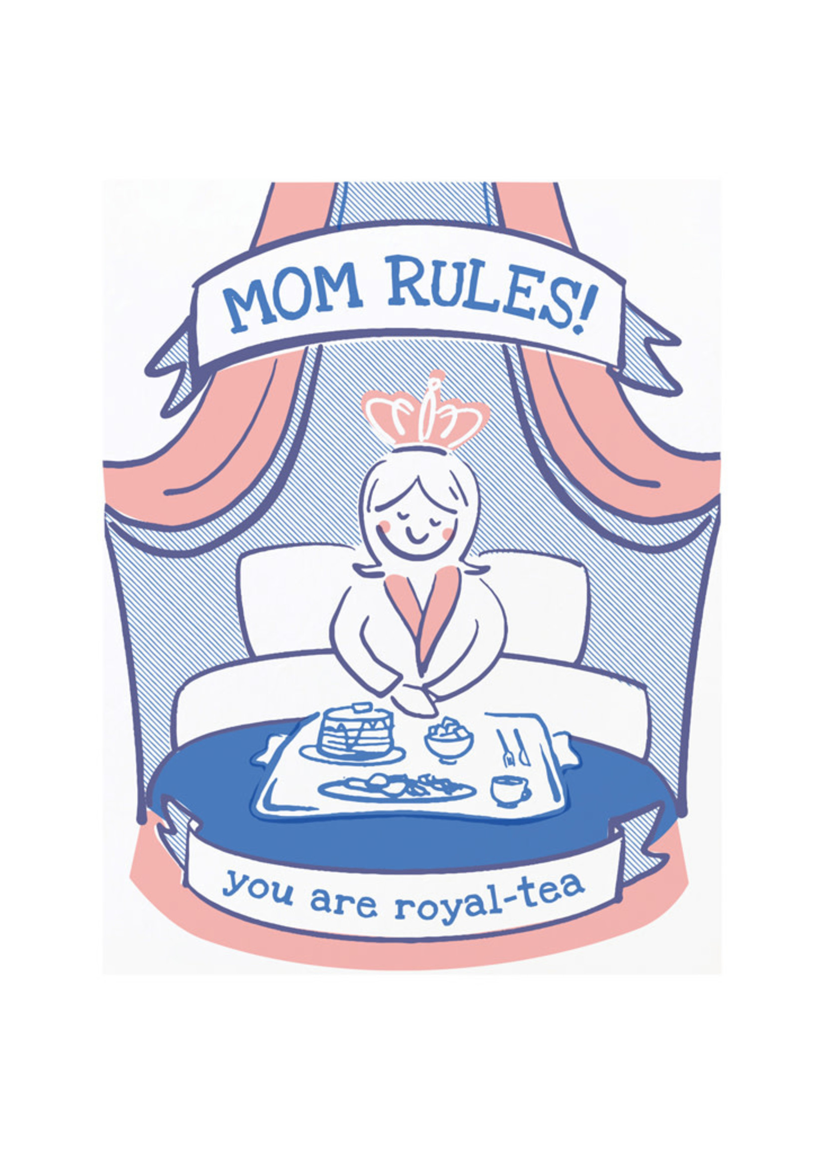 Good Paper Mom Rules Card