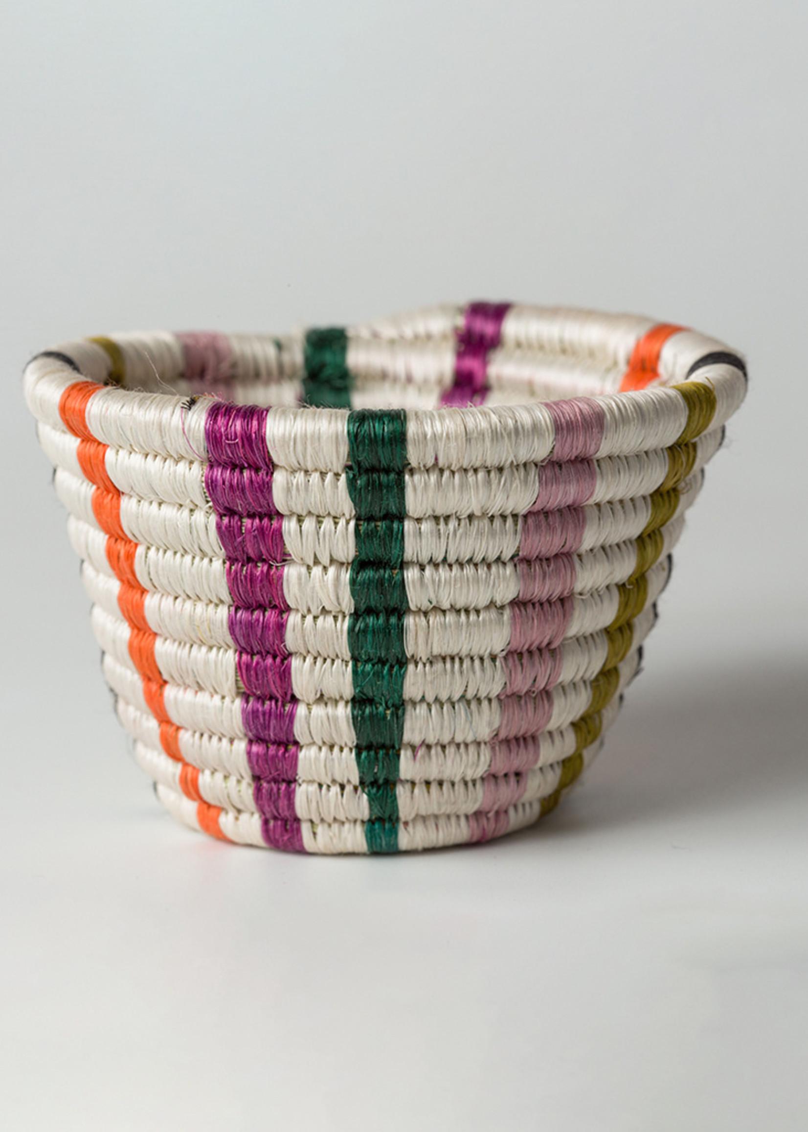 Kazi Tiny Striped Multicolor Neon Catch All