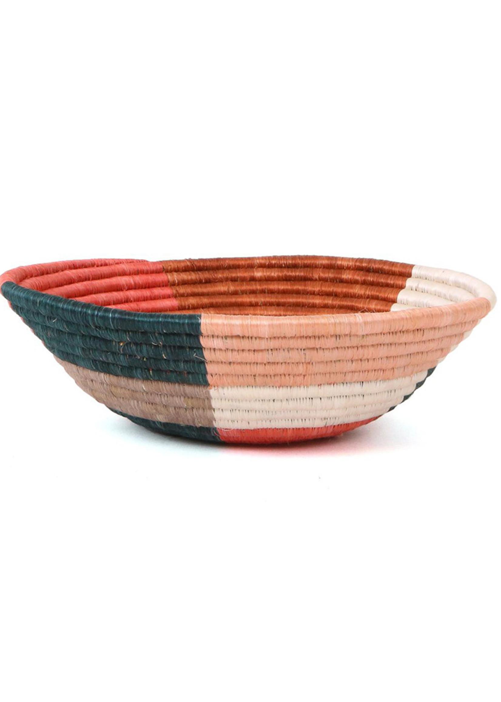 Kazi Large Coral Clay Umuseke Basket