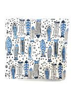 Block Print Fish Quilt