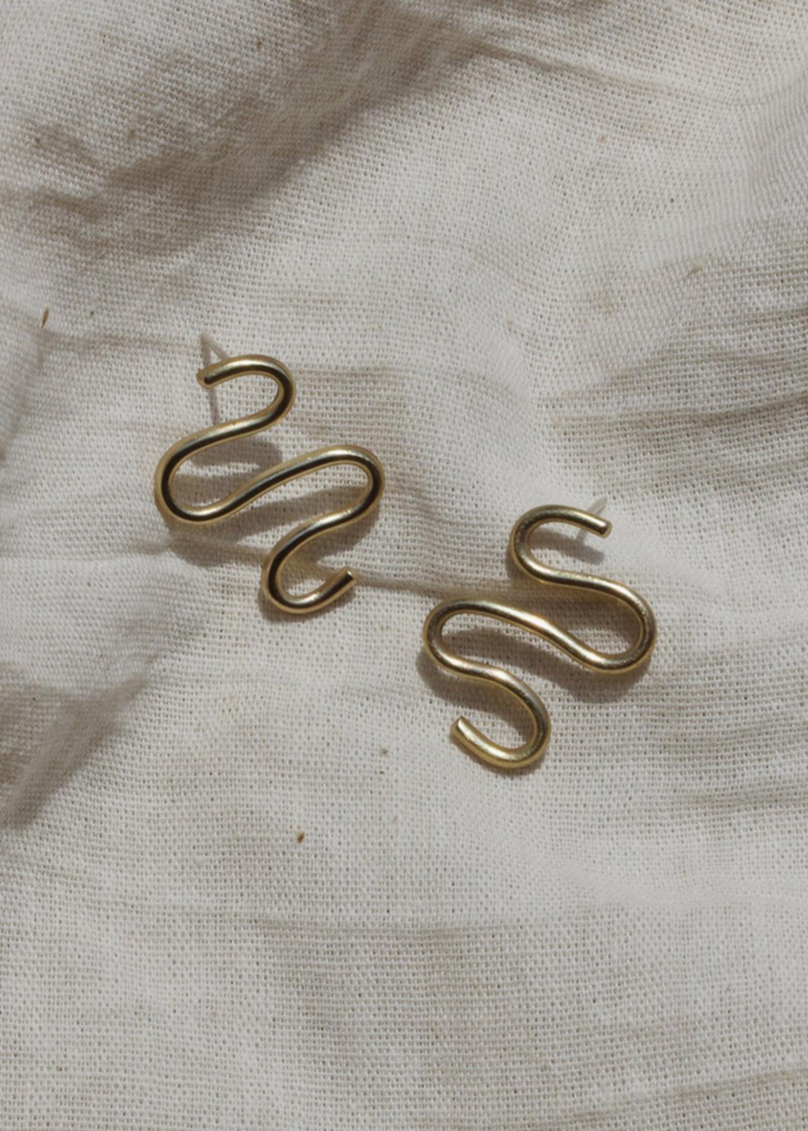 YEWO Njoka Earrings