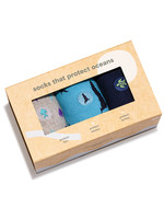 Conscious Step Men's Box of Socks That Protect Ocean Animals