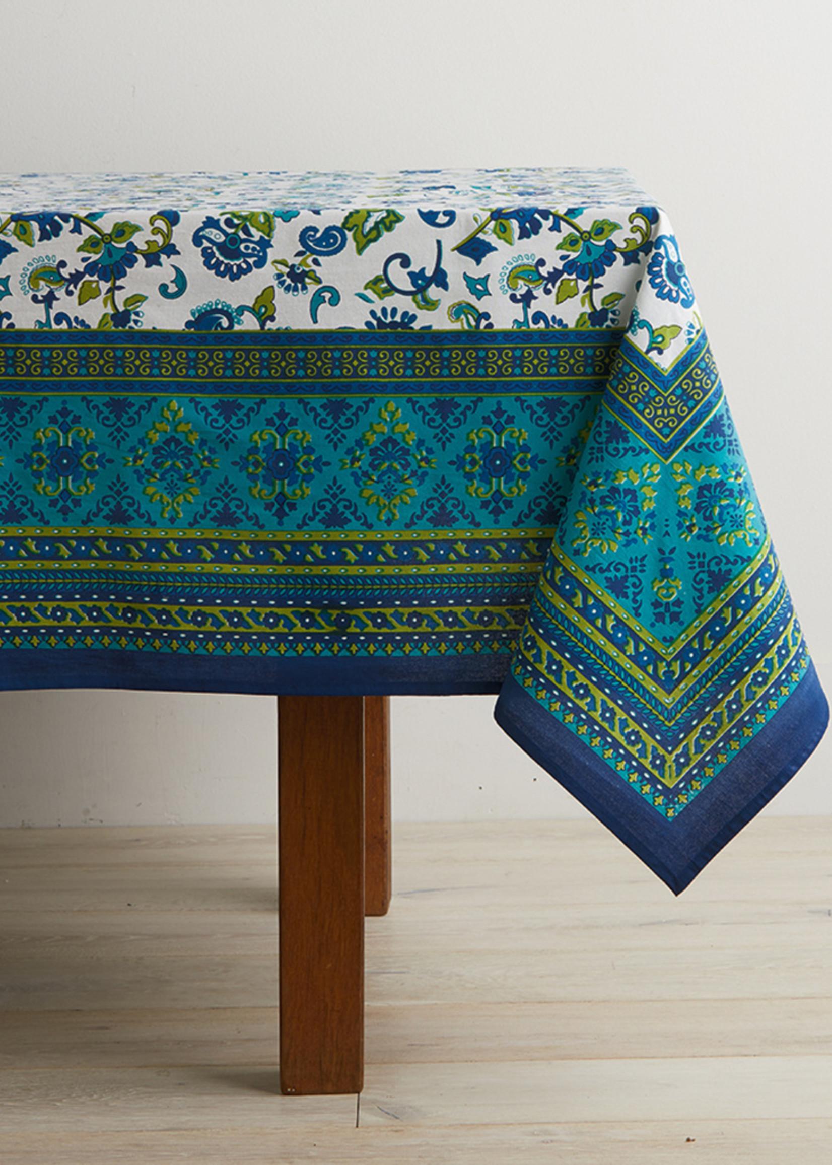 Monsoon Flower Tablecloth