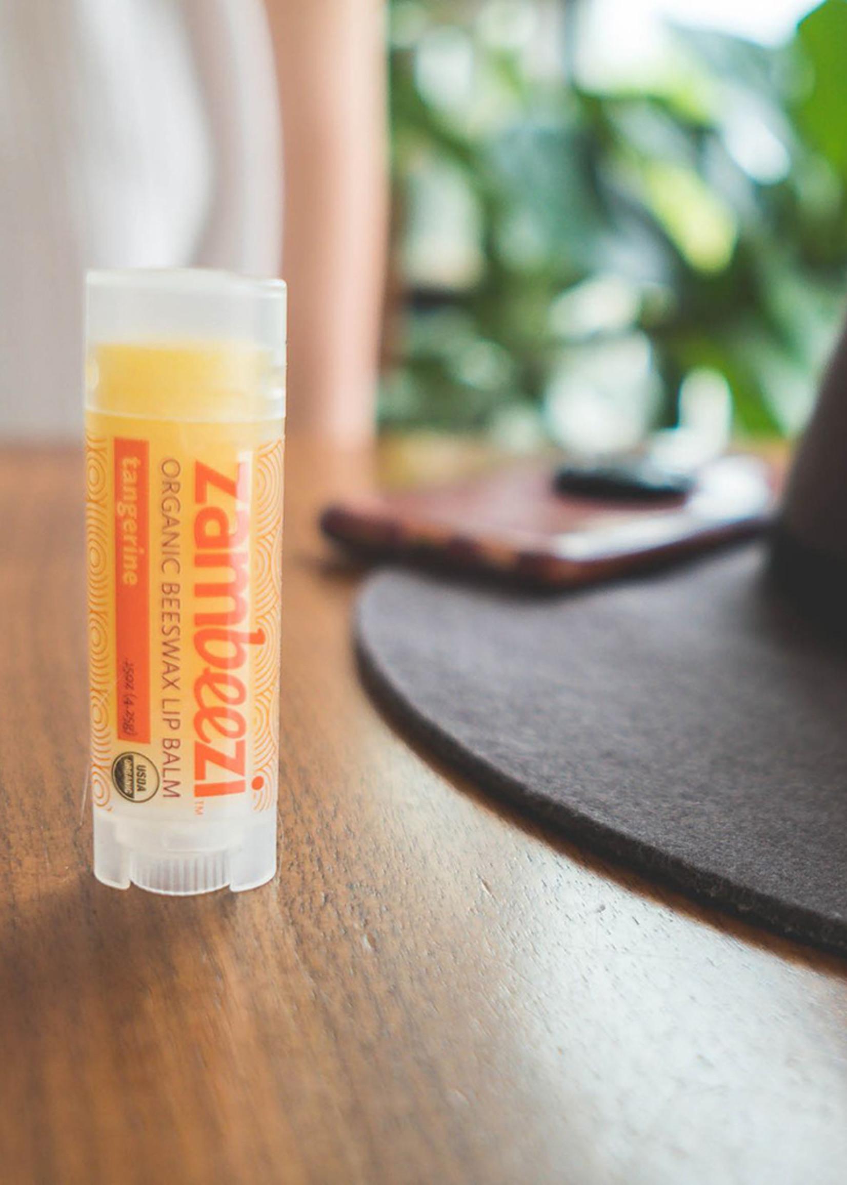 Tangerine Beeswax Lip Balm