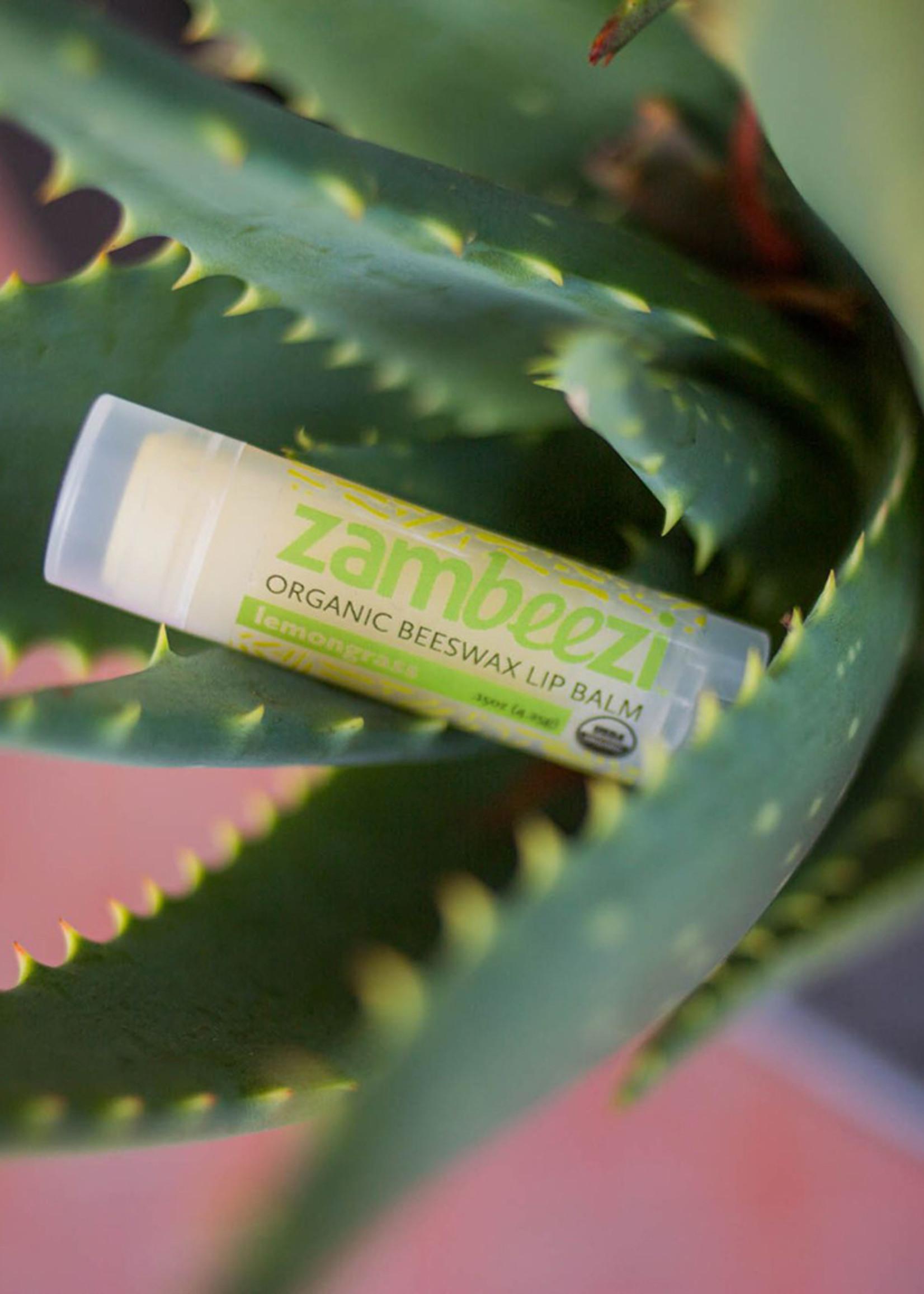 Lemongrass Beeswax Lip Balm