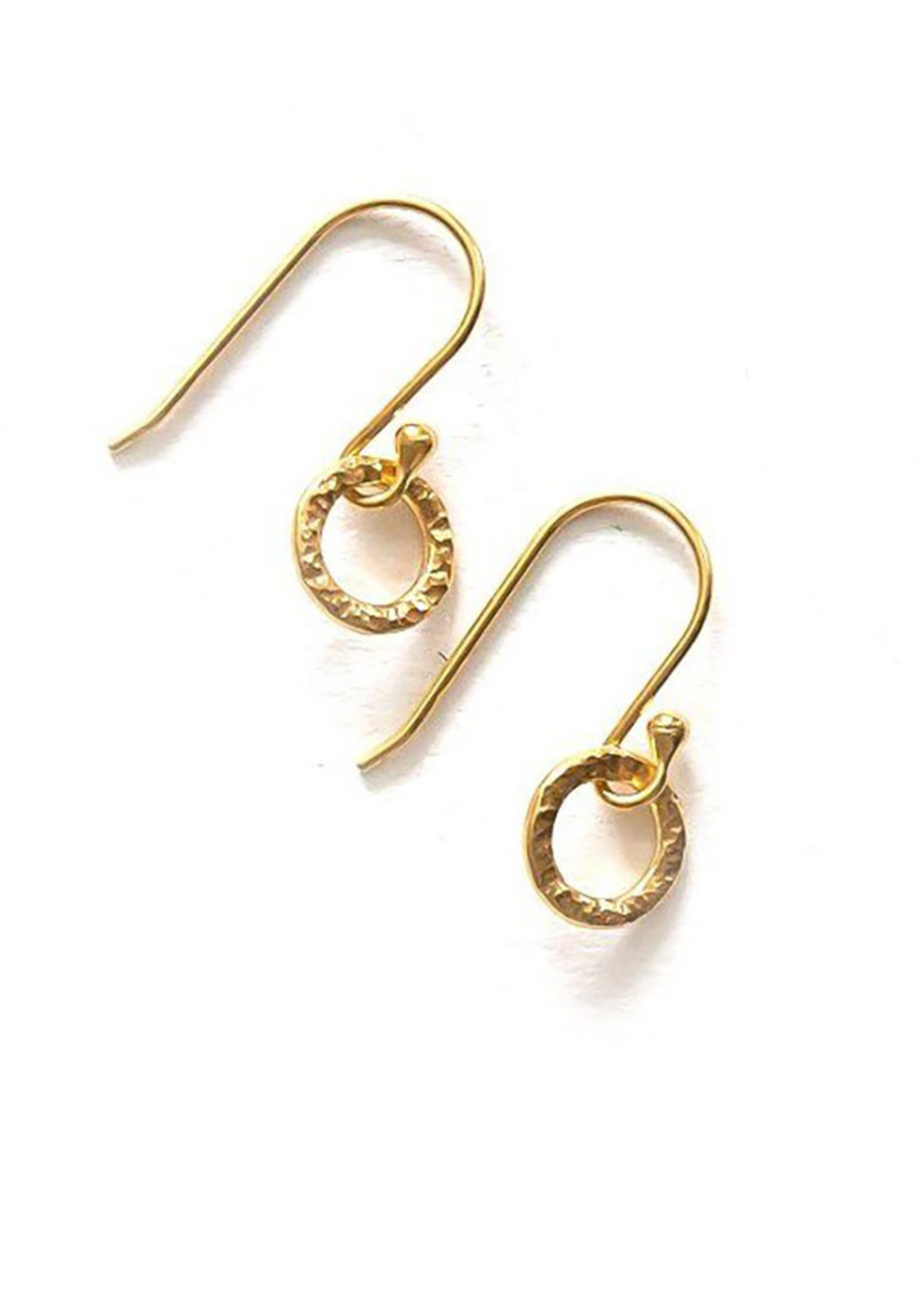 Gold Merry Go Round Earrings