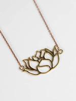 Graceful Lotus Necklace