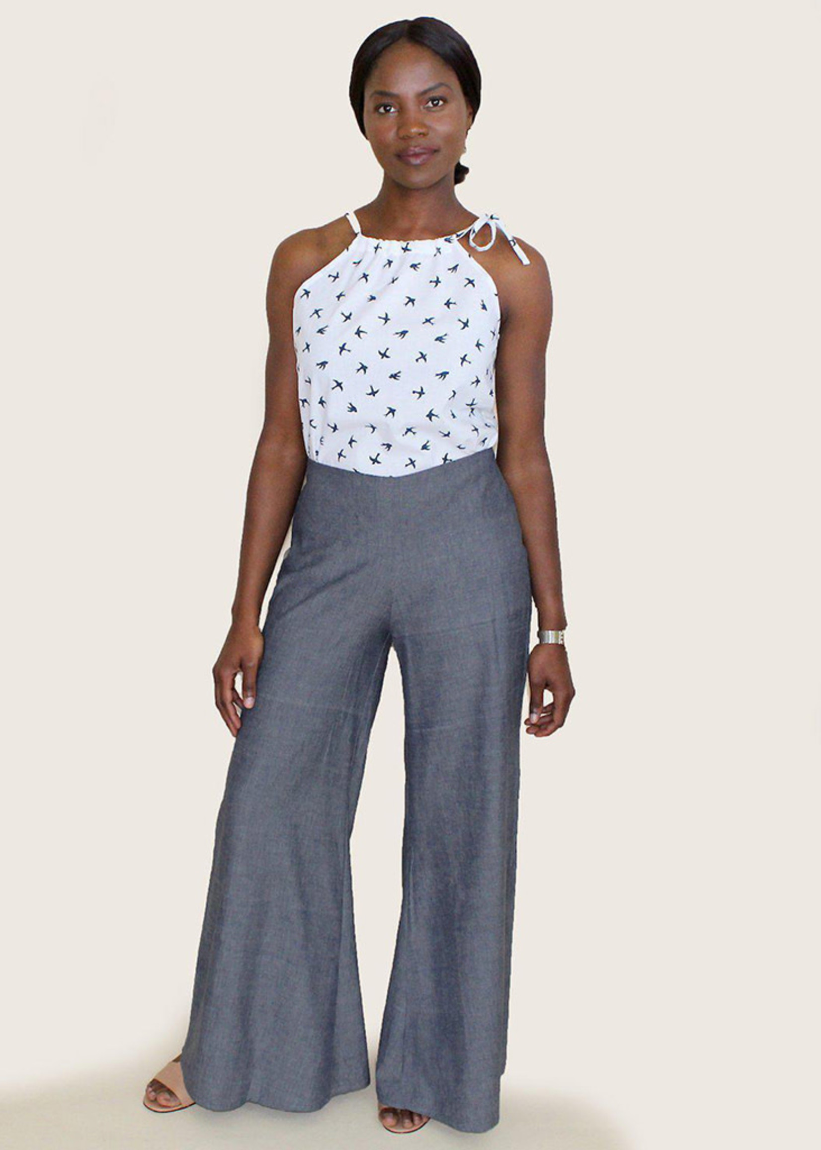 Passion Lilie Chambray Pants
