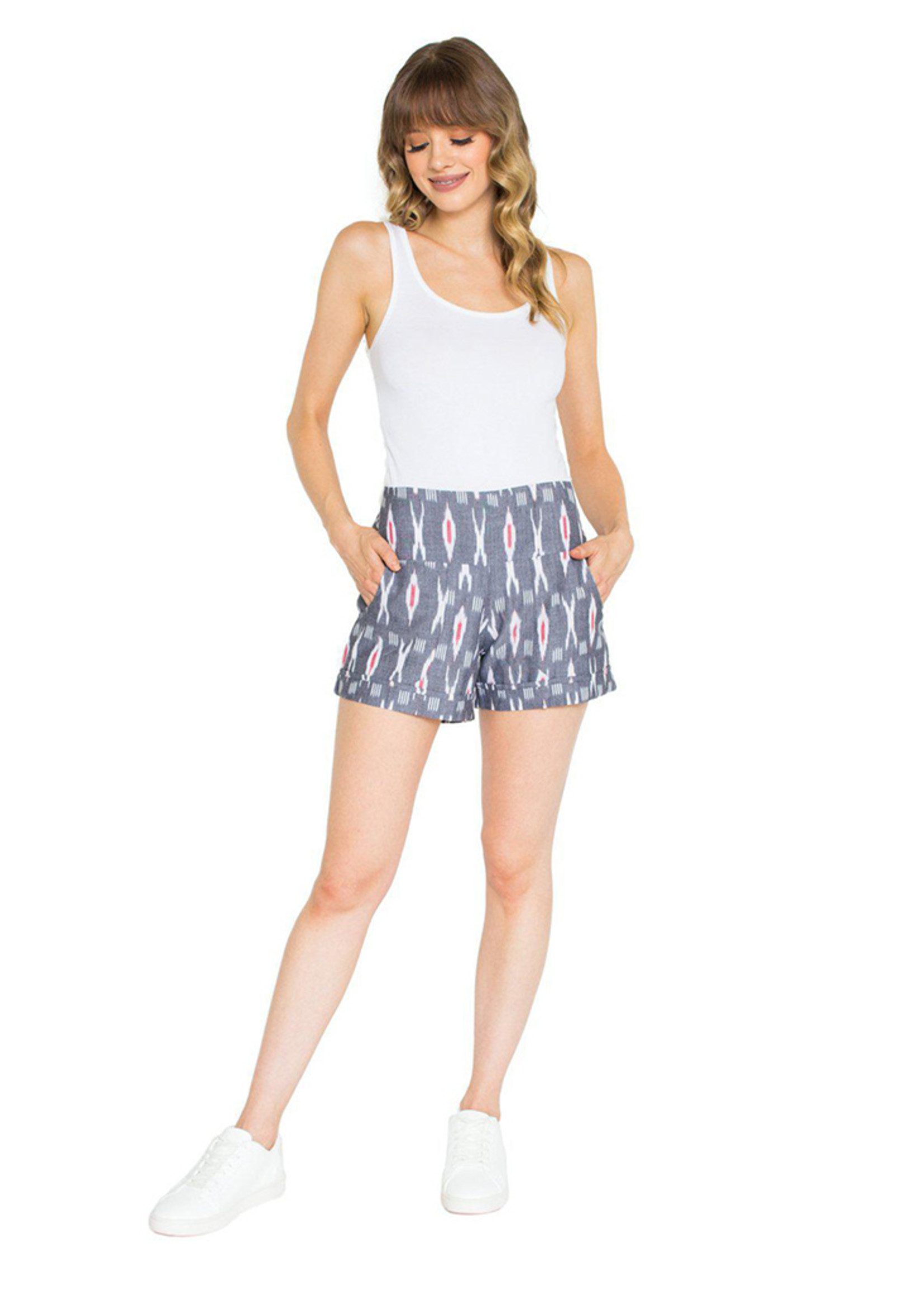 Passion Lilie XO Grey Shorts