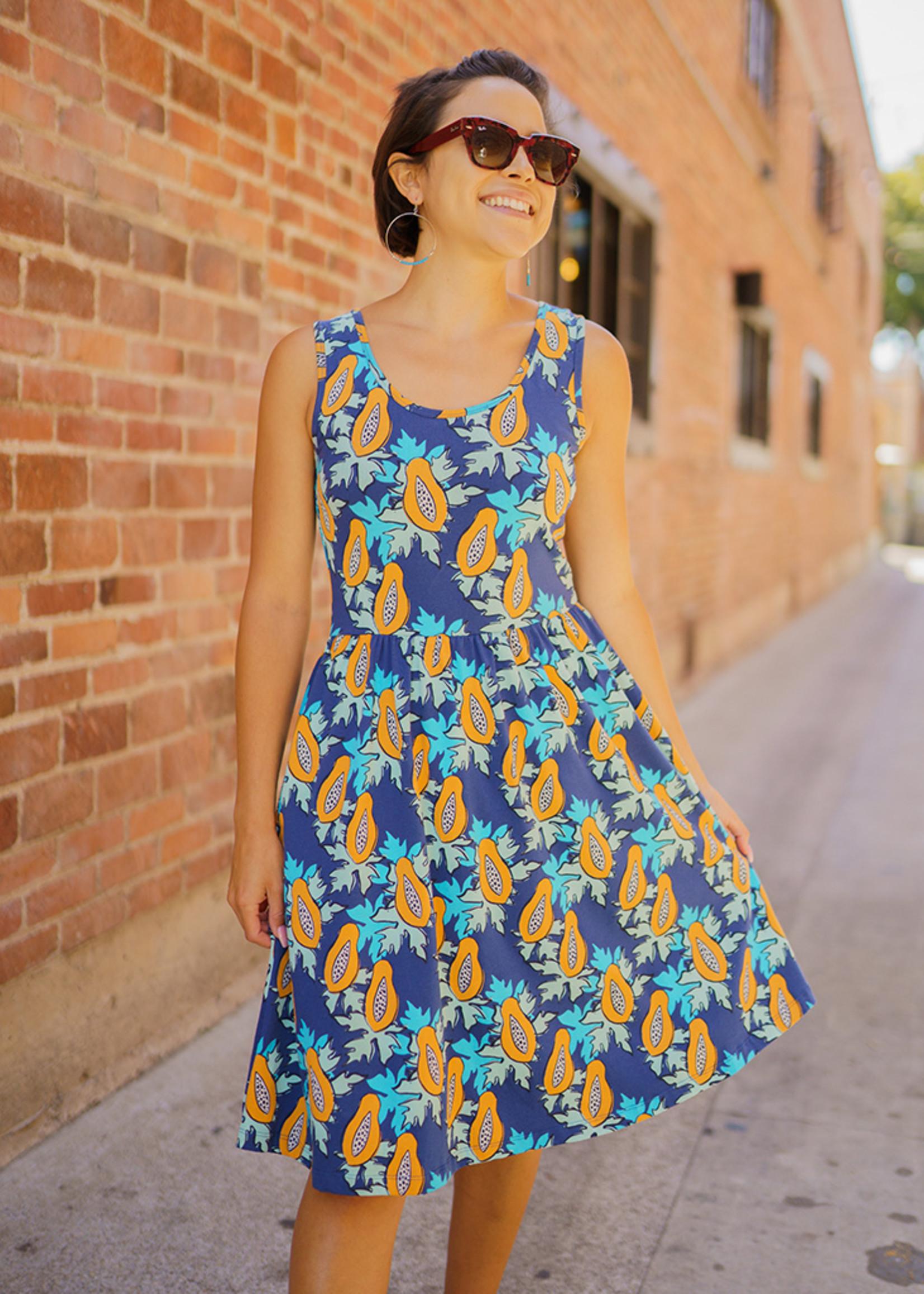 Mata Traders Summer Sonnet Papaya Dress