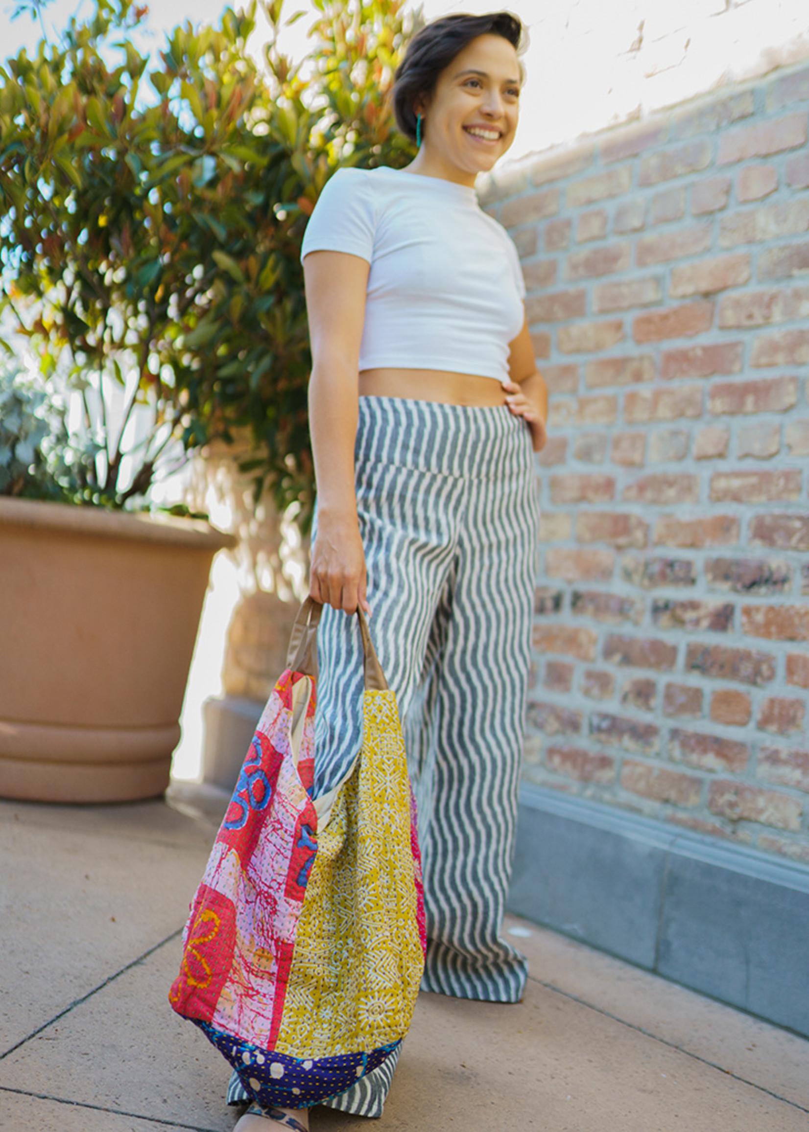Recycled Sari Tote Bag