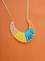 Cheery Crescent Necklace