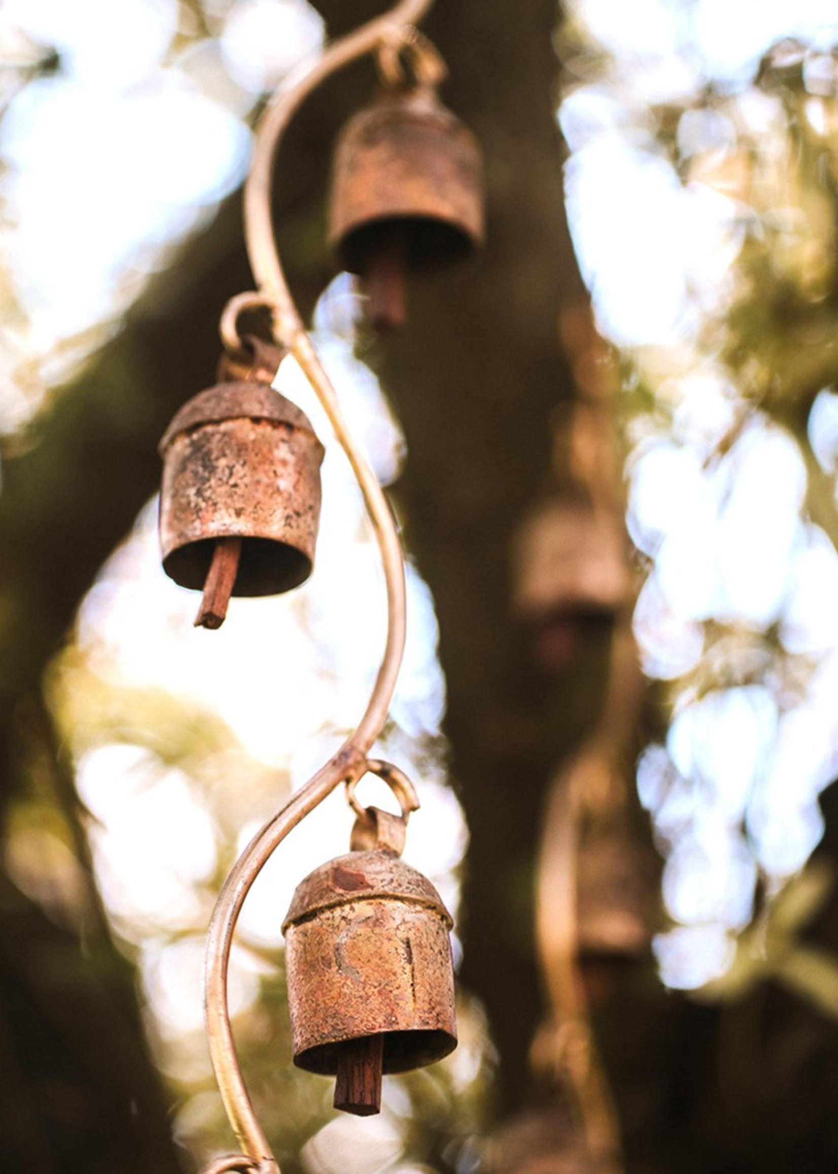 7 Bell Curvy Stem Chime