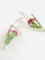 Belart Triangle Alyssum Earrings