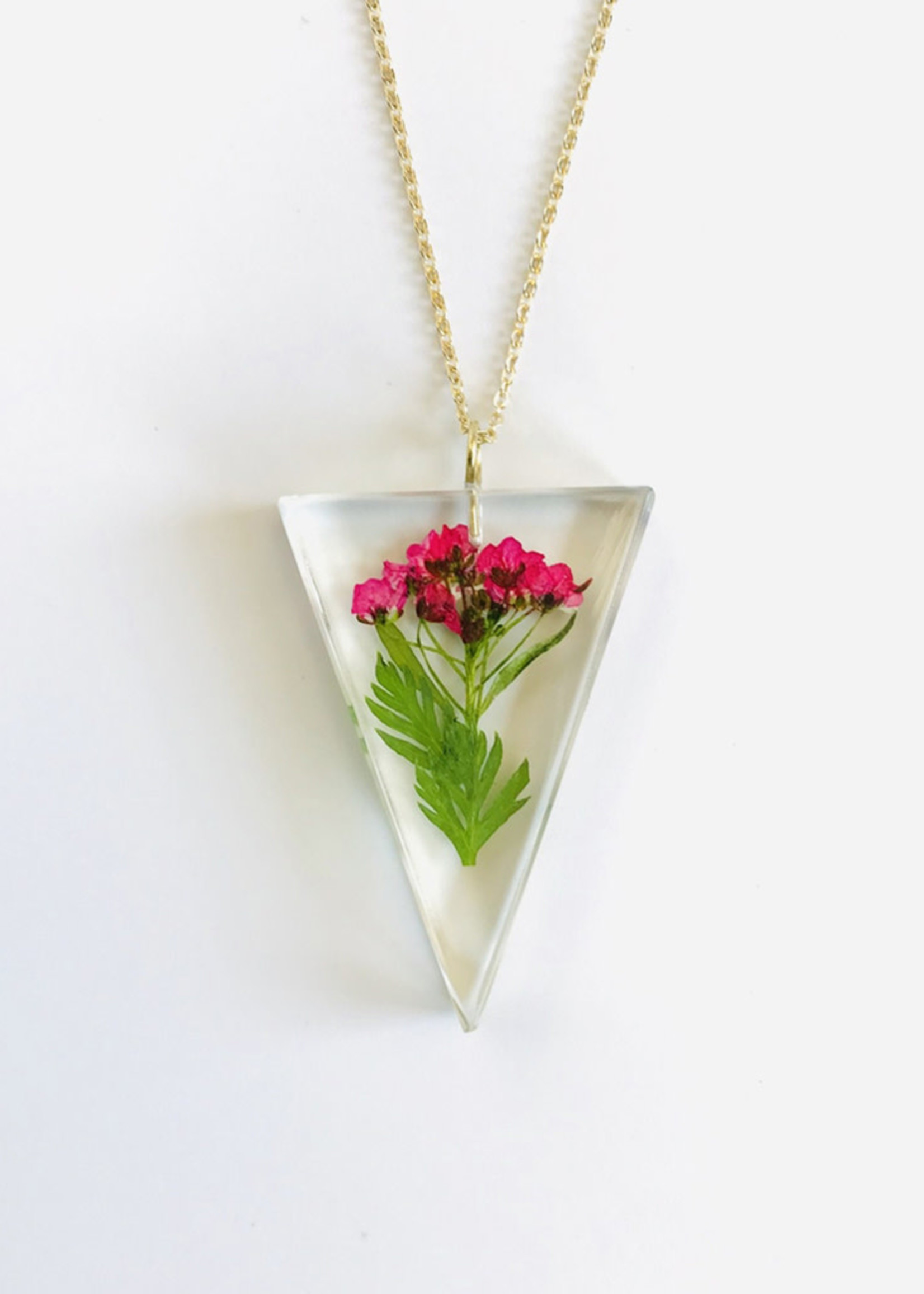 Belart Triangle Alyssum Necklace