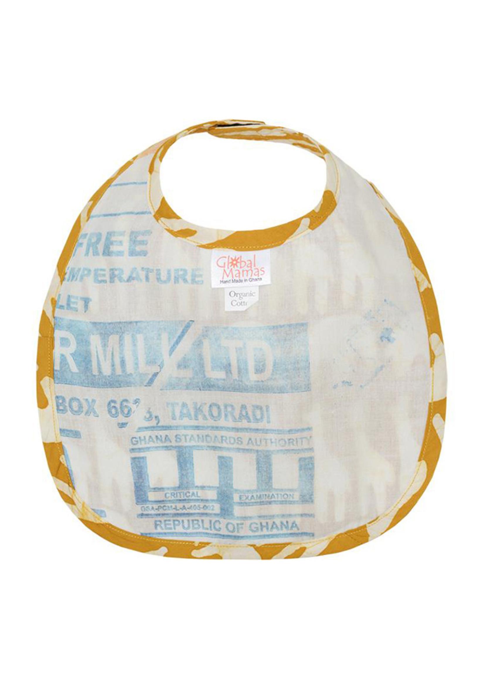 Global Mamas Mustard Sahara Bib