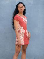 Tonle Rowan Red Canyon T-shirt Dress