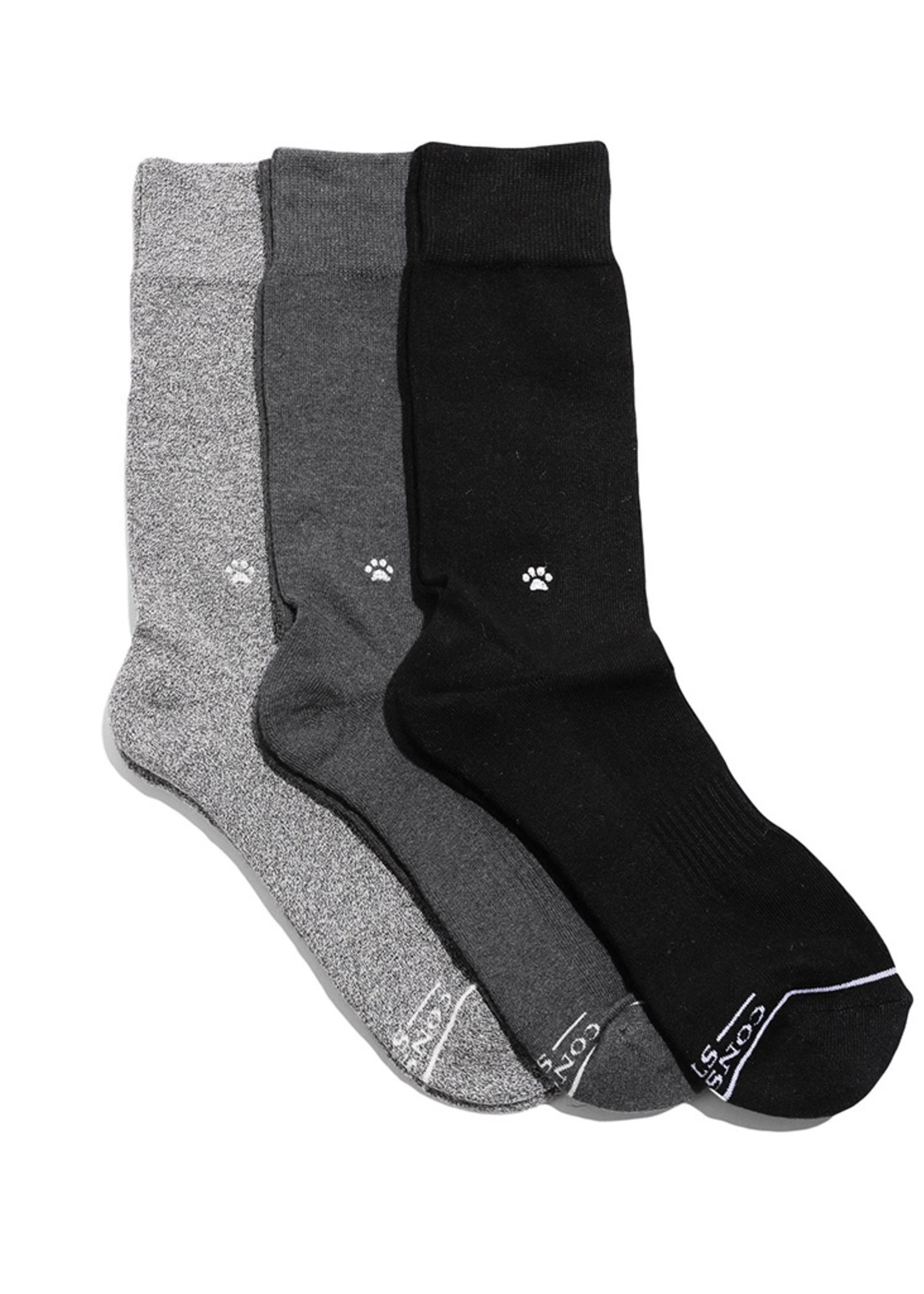 Conscious Step Men's Box of Socks That Save Dogs