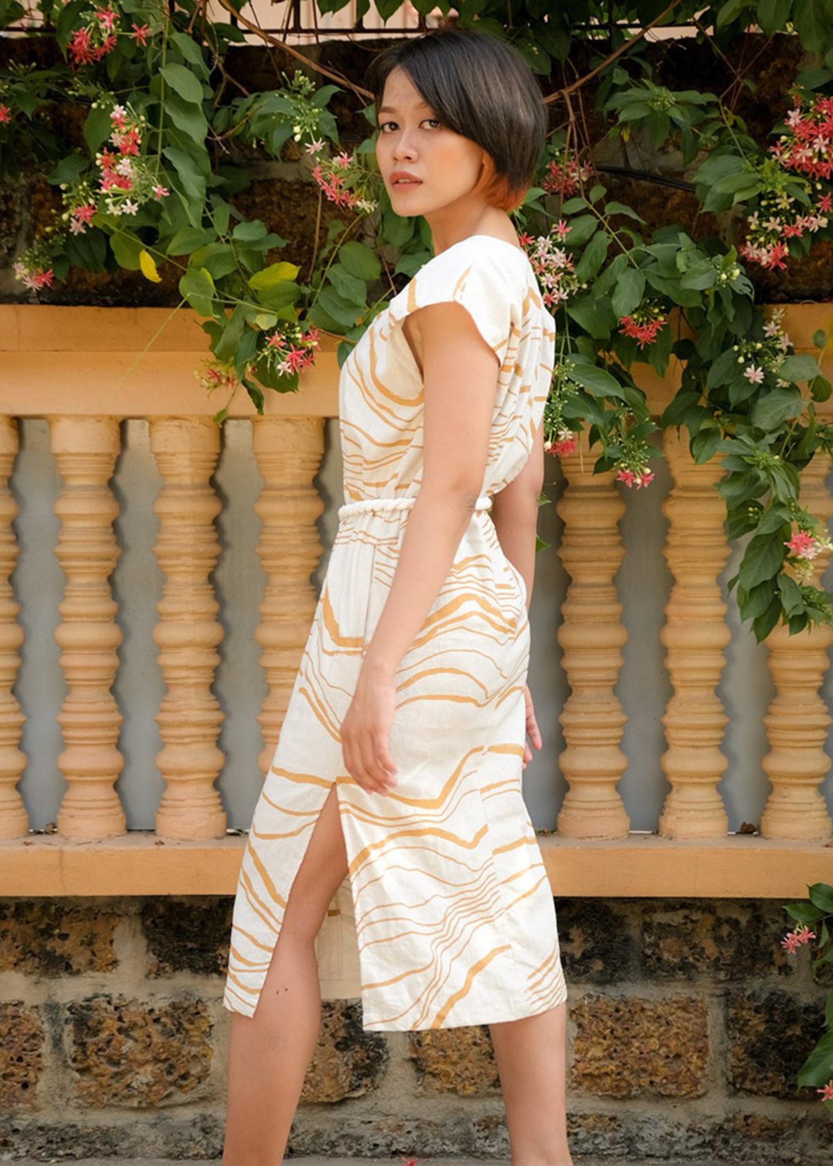Tonle Nary Delta Dress