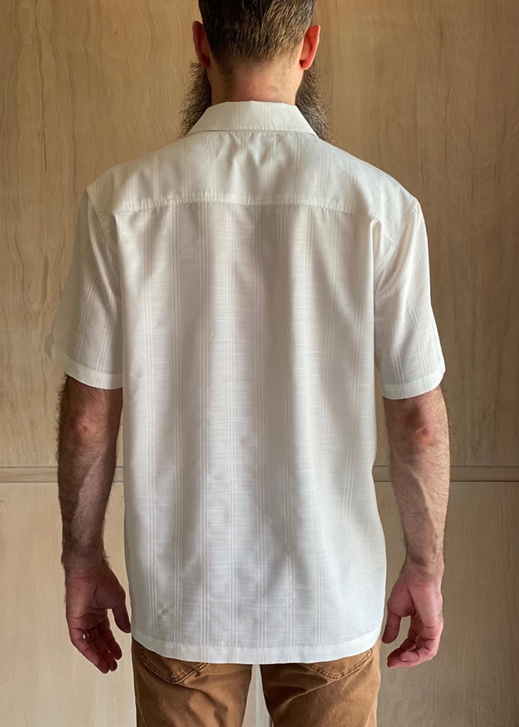 Creamy White Hemp Shirt