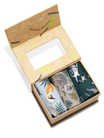 Conscious Step Kid's Sock Box Protect Rainforests 4-6Y