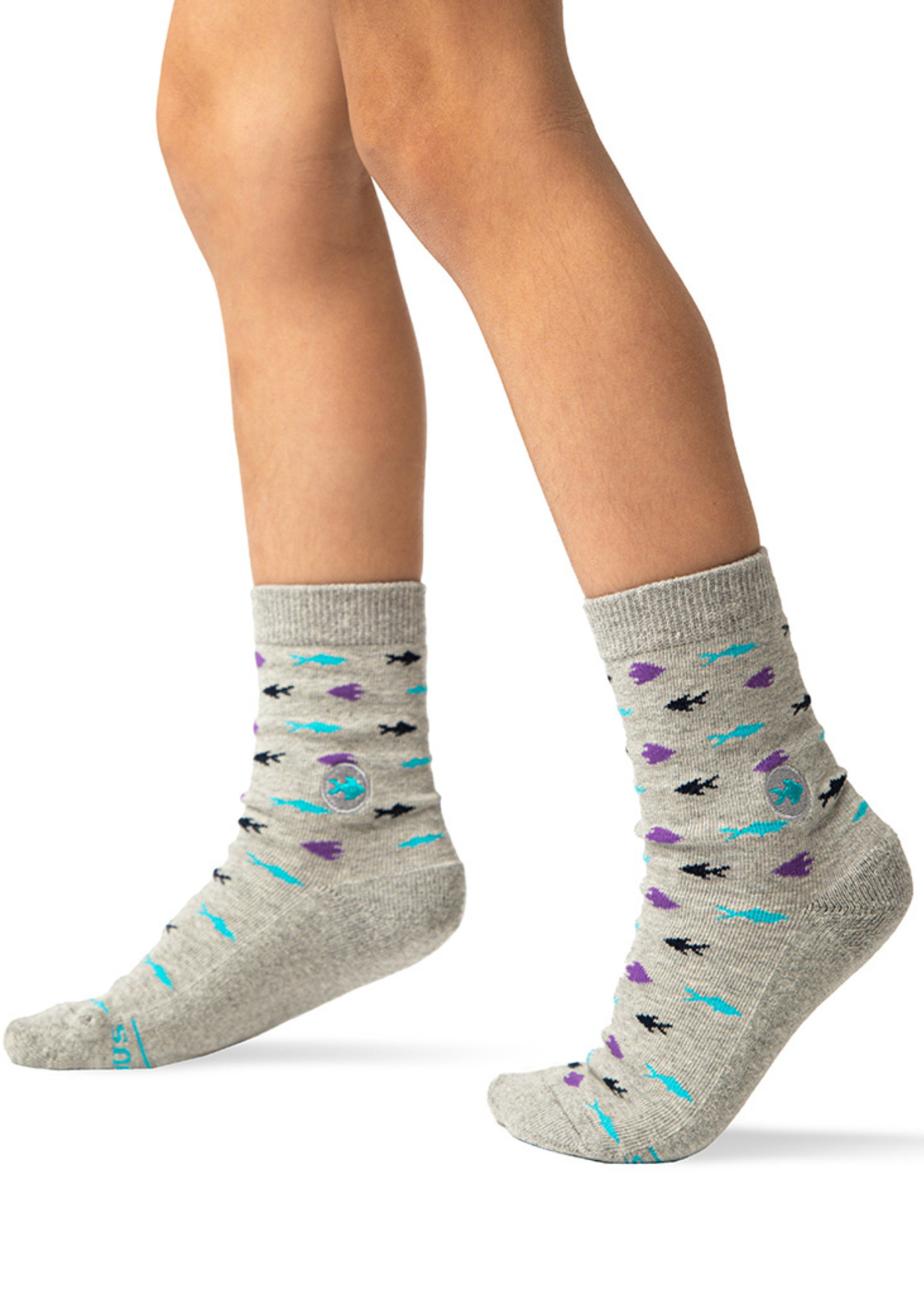 Conscious Step Kid's Sock Box Protects Oceans 7-10Y
