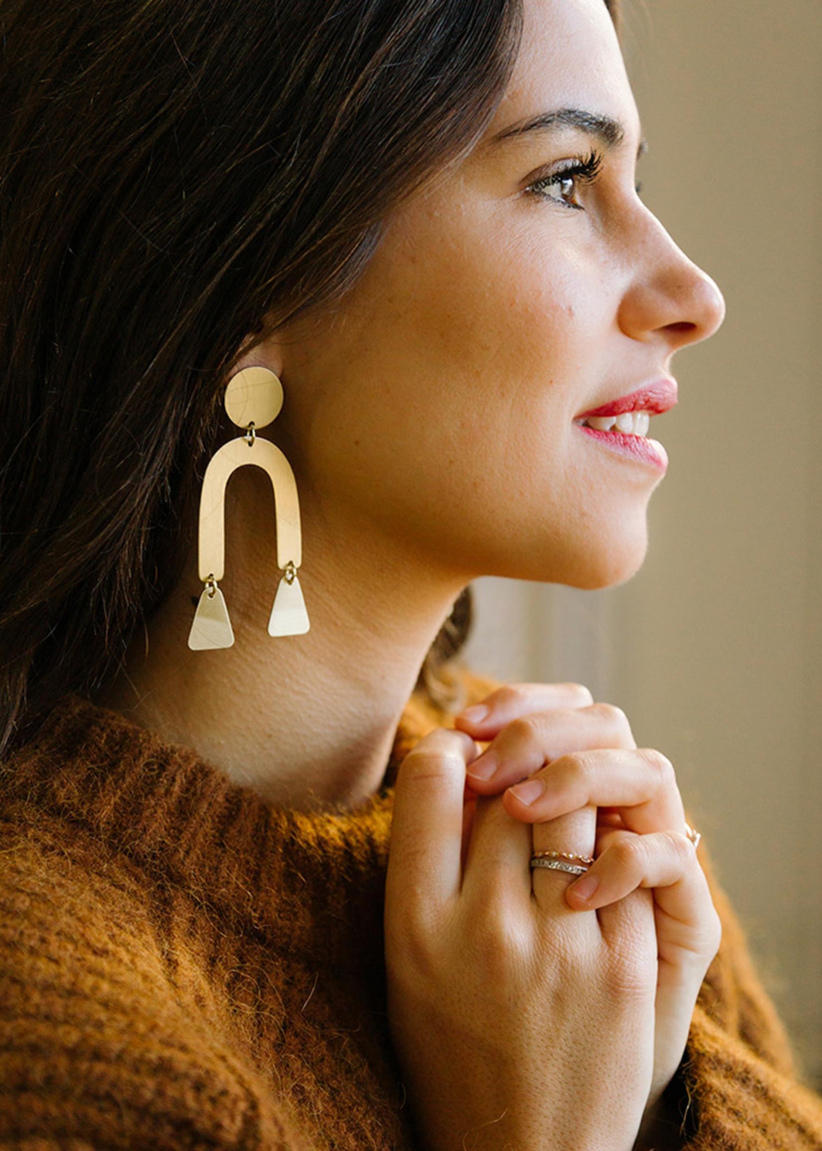 Modern Shapes Earrings