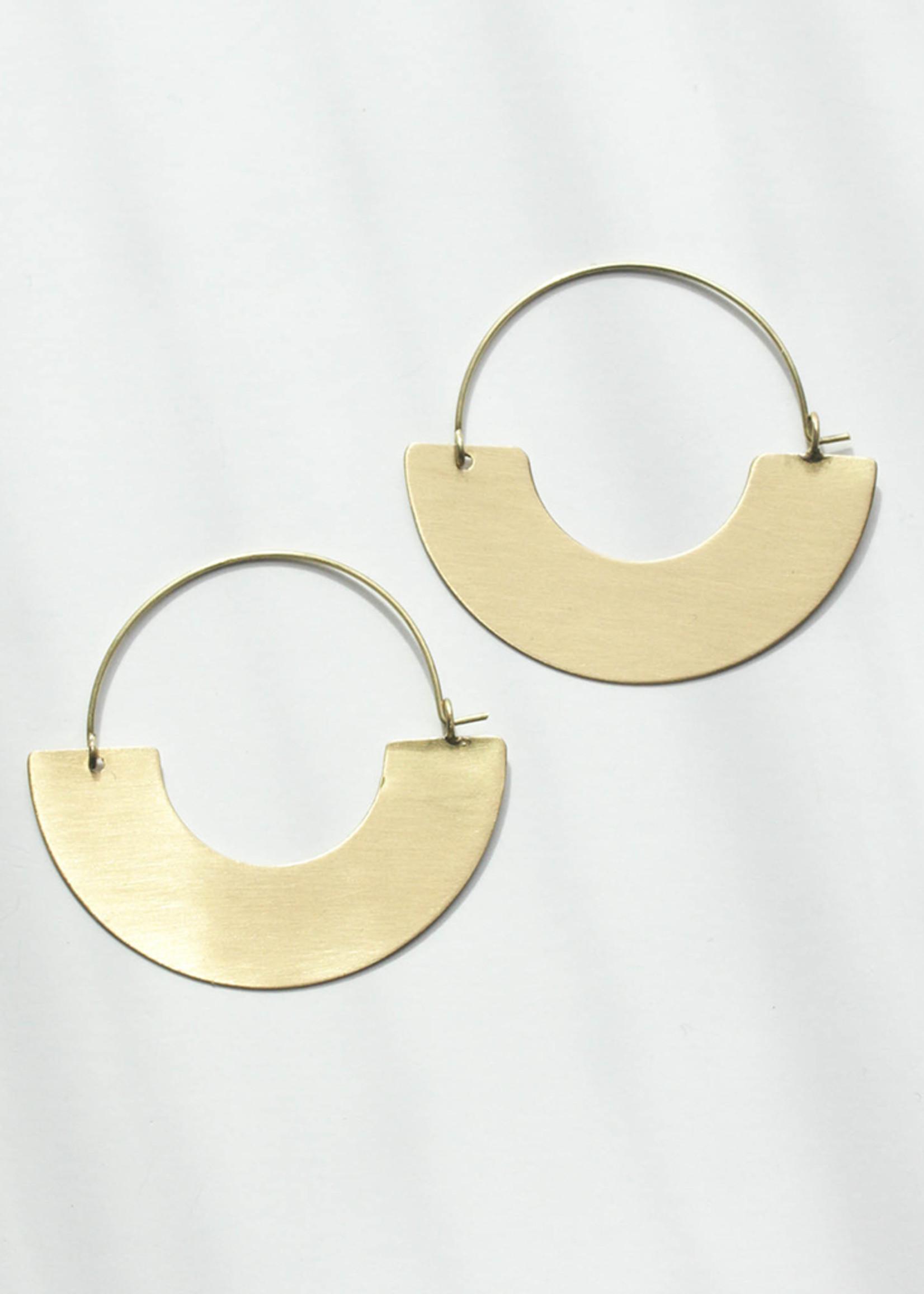 Everyday Gold Hoop Earrings