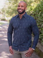 Passion Lilie Navy Admiral Shirt