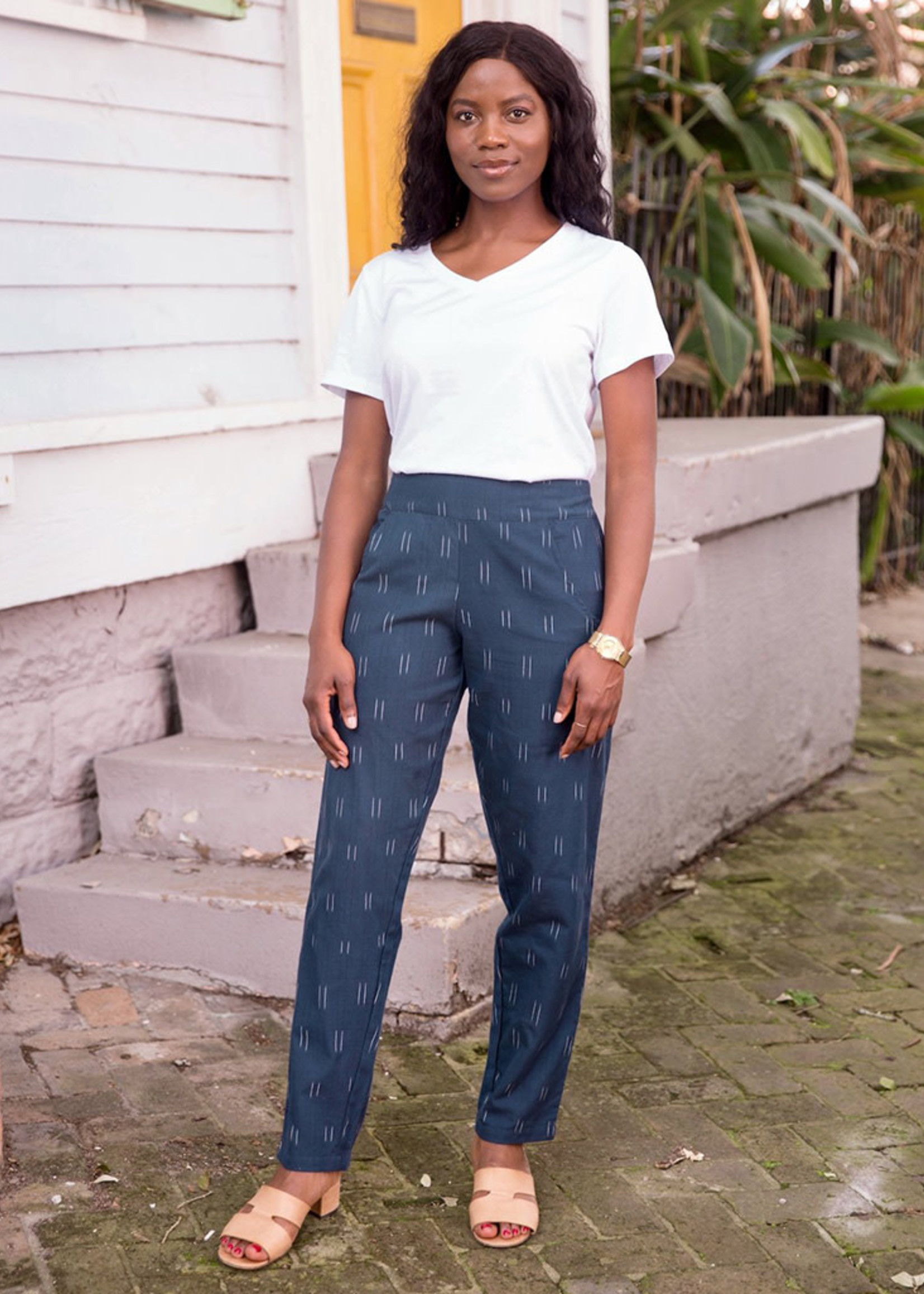 Passion Lilie Navy Admiral Pants