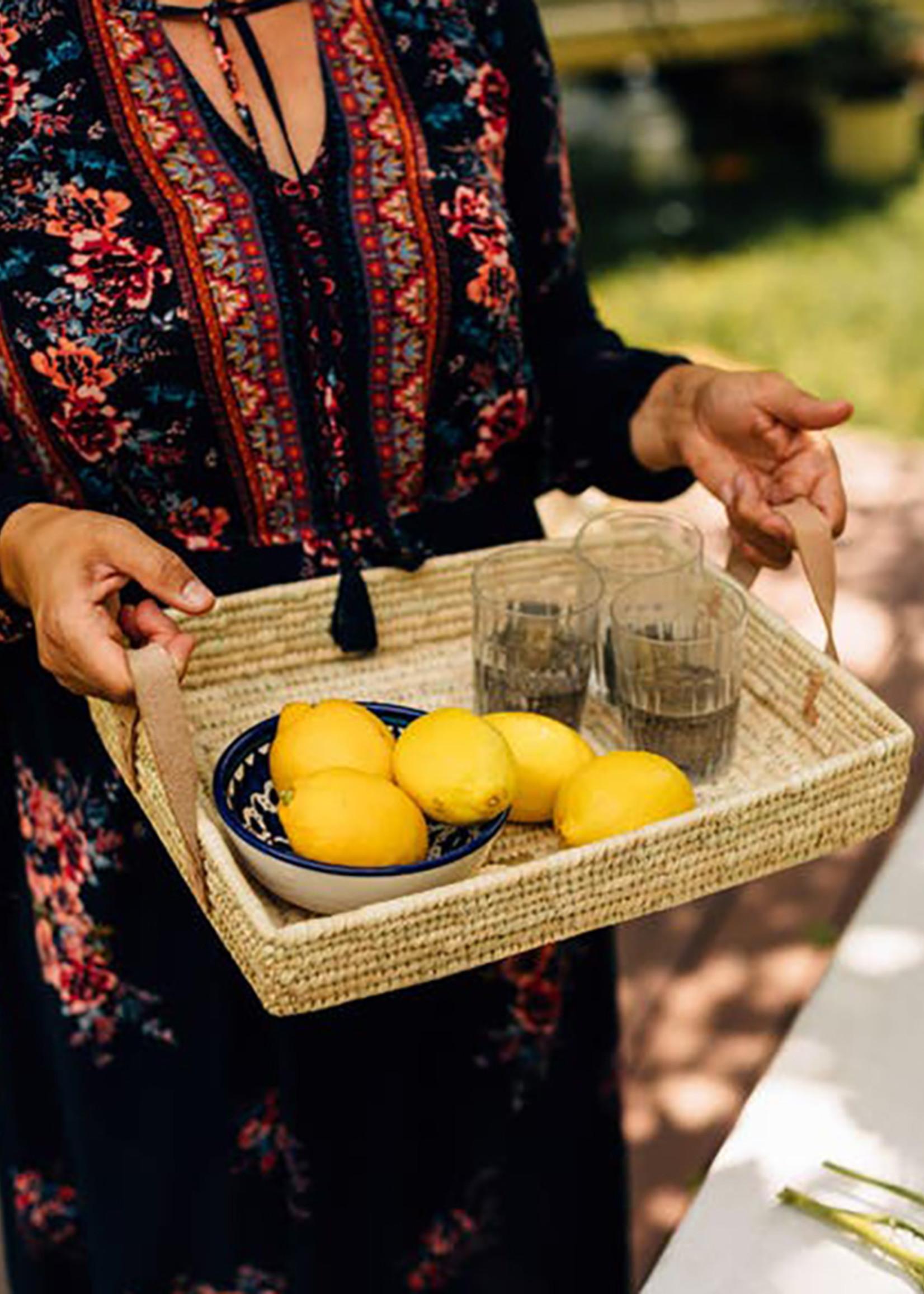 Rectangle Handled Basket