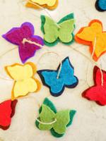 Ganesh Himal Felt Butterfly Garland