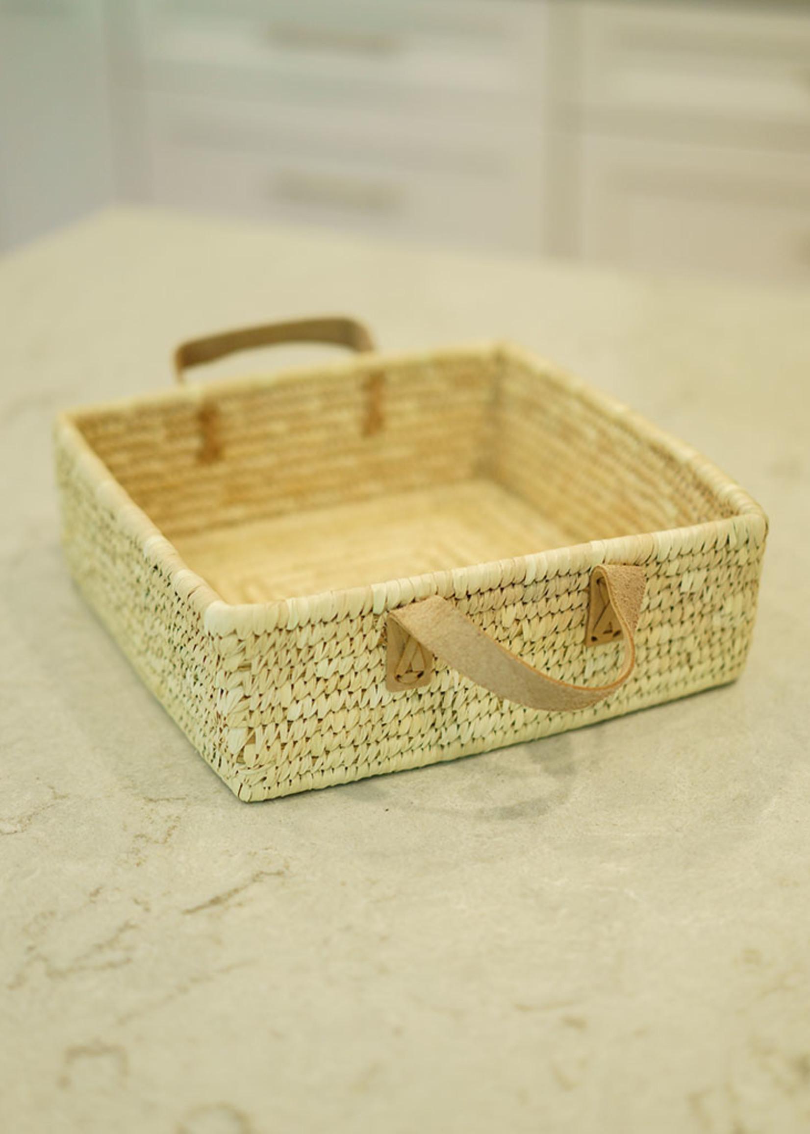 Square Handled Basket
