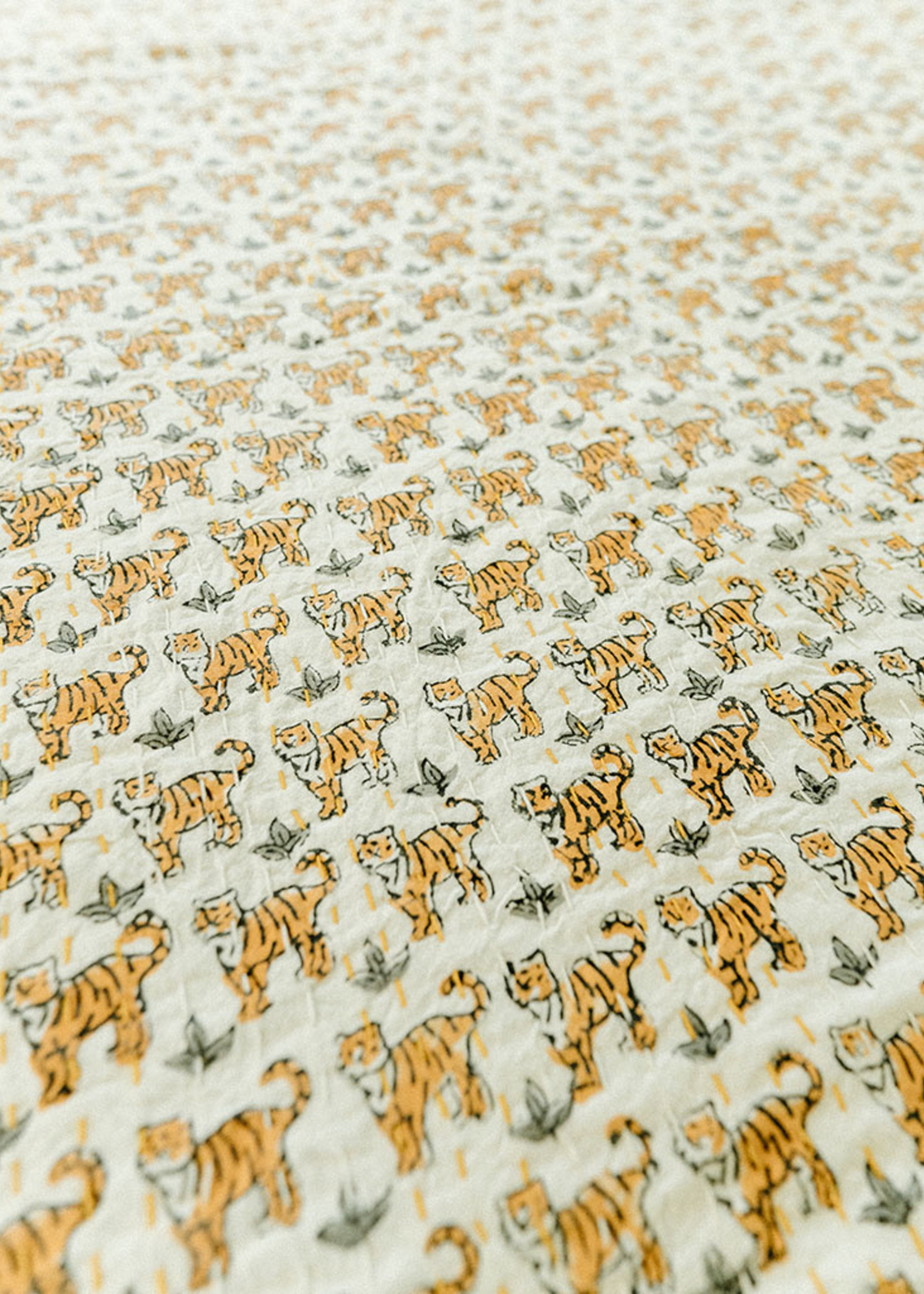 Tiger Twin Size Quilt