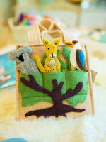 Global Goods Partners Felt Australian Puppet Bag