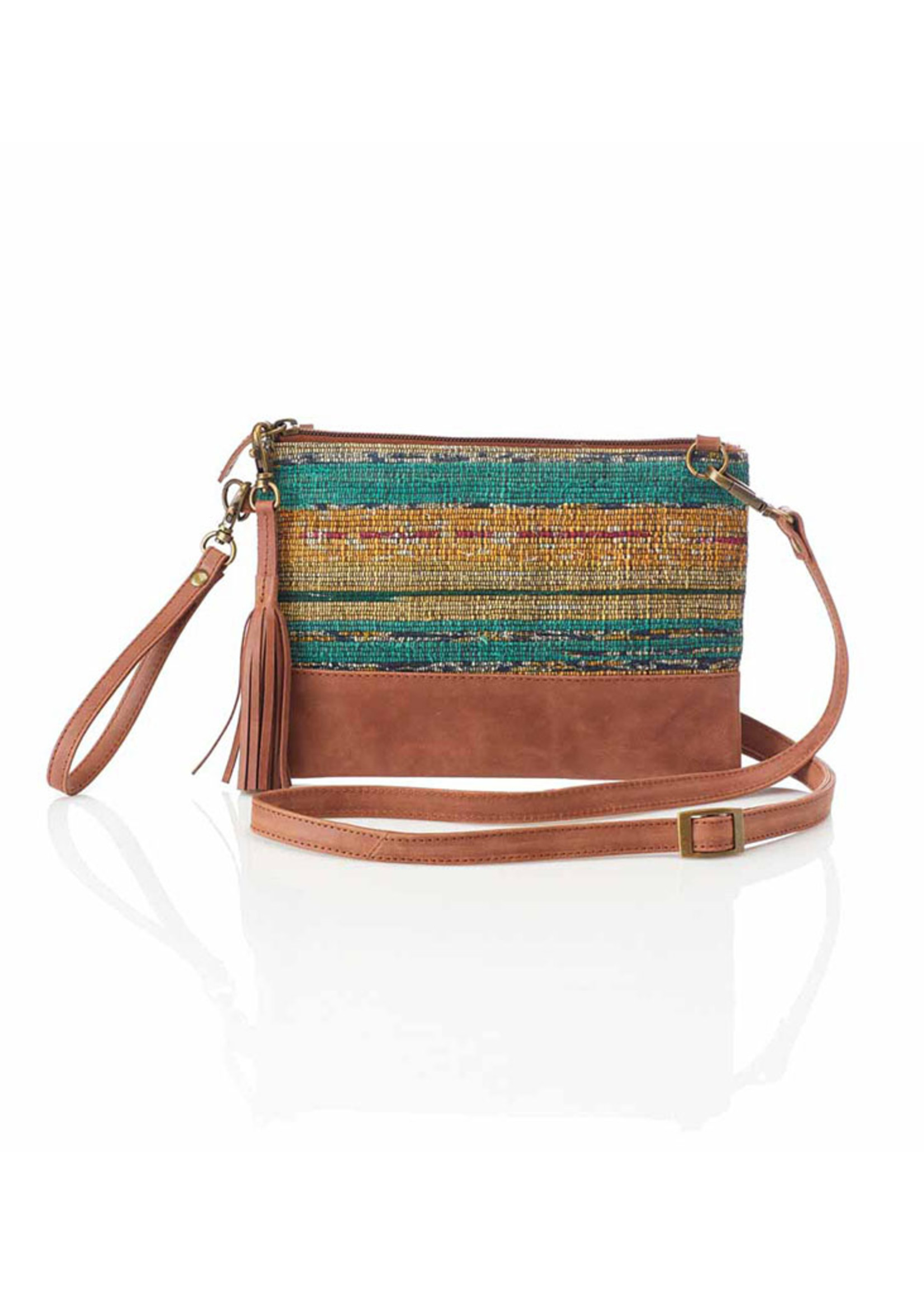 Sari Sunset Crossbody Bag Wristlet