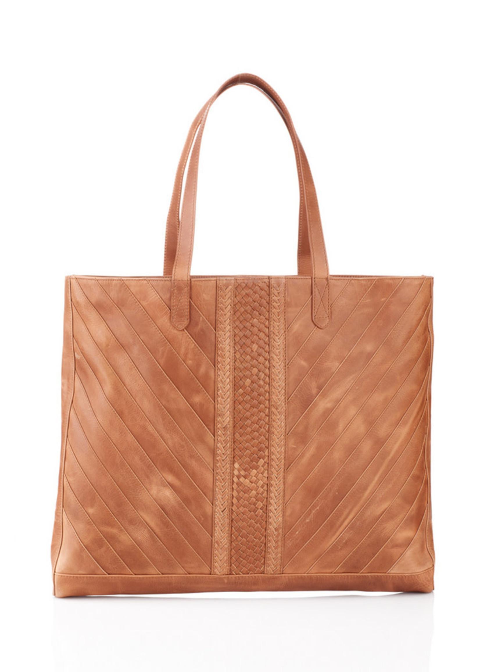 Riya Leather Tote Bag