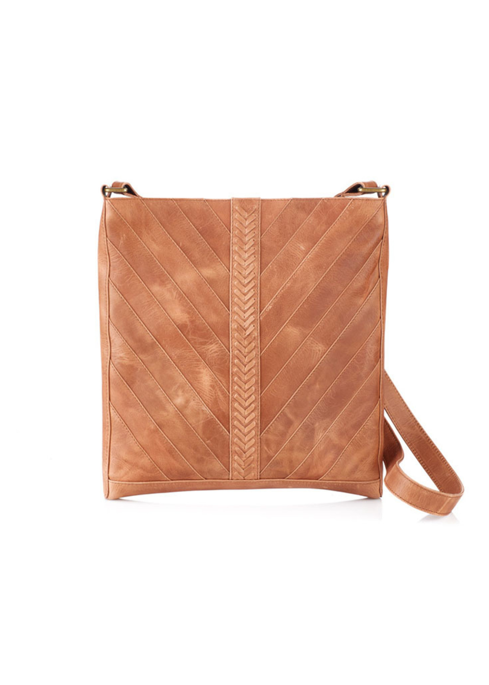 Ria Leather Crossbody Bag