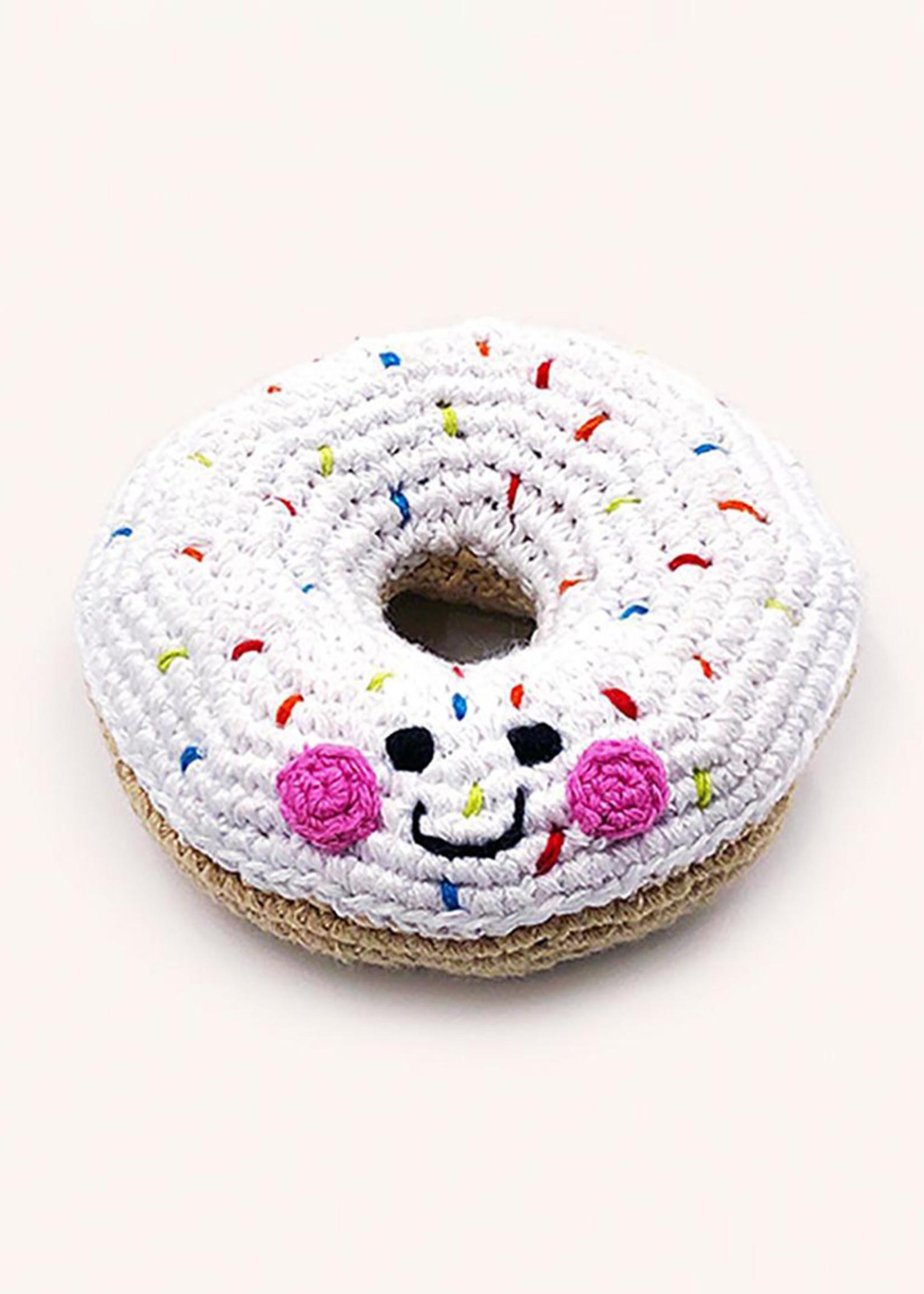 Friendly Doughnut Rattle