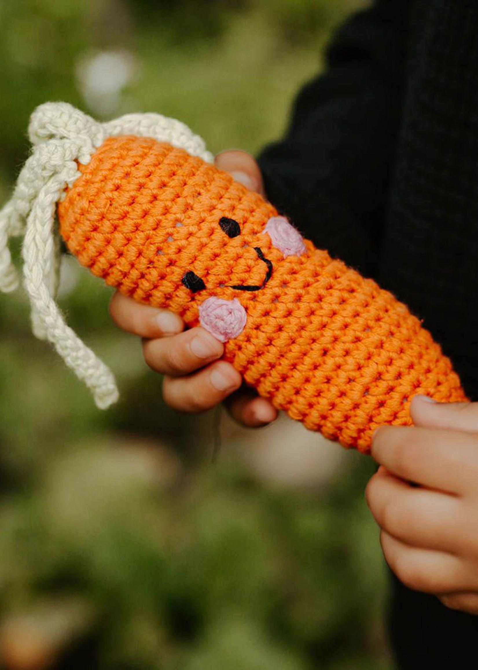 Friendly Carrot Rattle