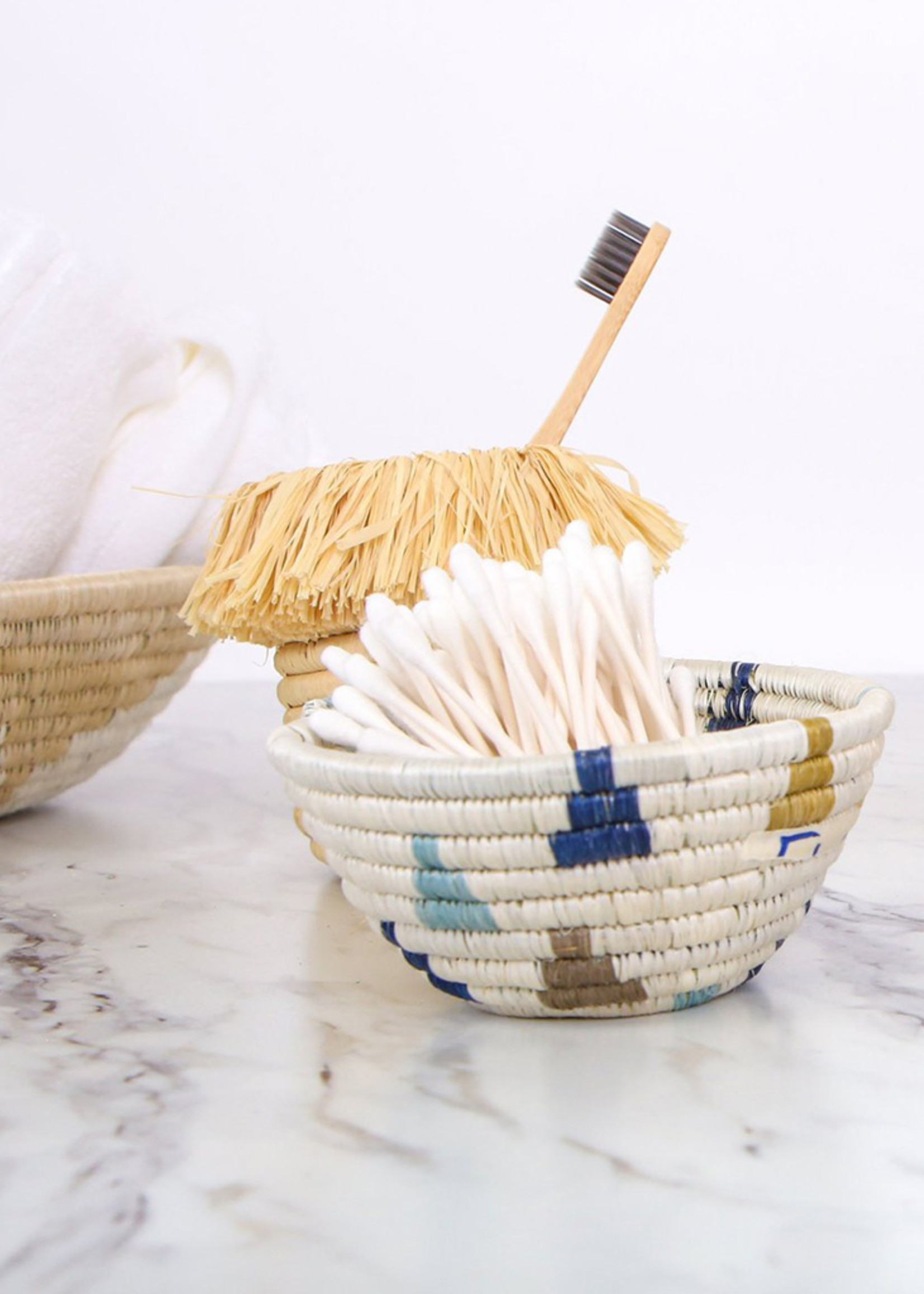 Kazi Tiny Blue Igosozi Catch All Basket