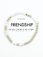 Morse Code FRIENDSHIP Bracelet