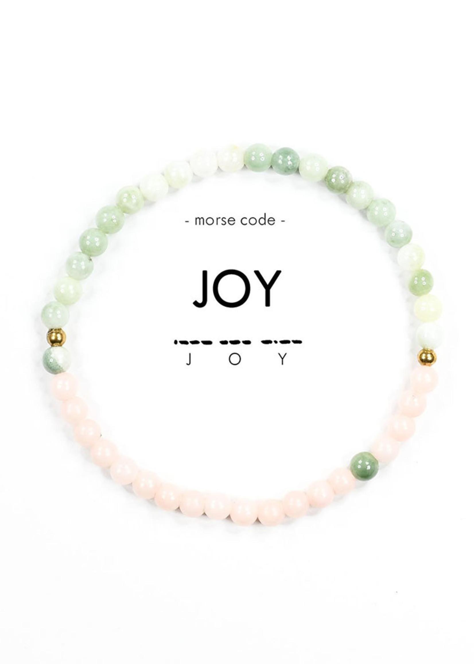 Morse Code JOY Bracelet
