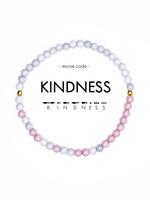 Morse Code KINDNESS Bracelet