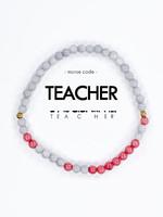 Morse Code TEACHER Bracelet
