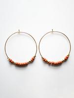 Morse Code LOVE Earrings